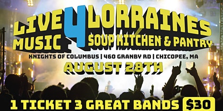 LIVE MUSIC 4 LORRAINES SOUP KITCHEN & PANTRY tickets