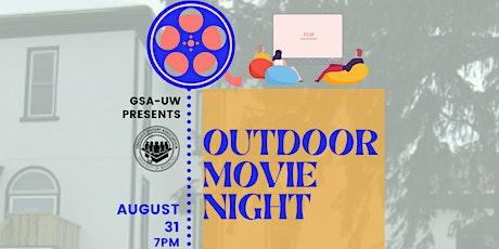 GSA Outdoor Movie Night tickets
