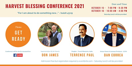 Harvest Blessing Conference 2021 tickets