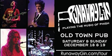 Runaway Gin, Saturday tickets