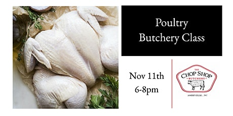 Poultry Butchery Class tickets