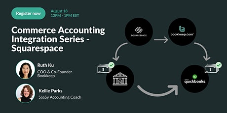 Commerce Accounting Integration Series - Squarespace tickets