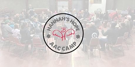Hannah's Hope AAC Camp 2021 tickets