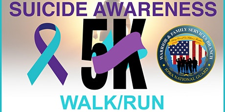; KEEP MOVING FORWARD; SUICIDE PREVENTION/AWARENESS 5K WALK/RUN tickets