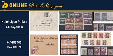 Koleksiyon Pulları Müzayedesi   Philately Auction tickets