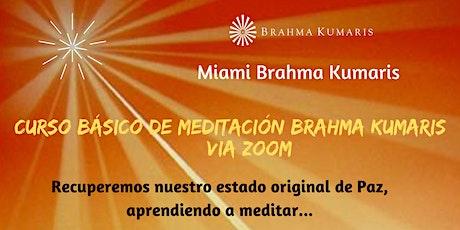 Curso Básico de Meditación Raja Yoga en Español (Miami) boletos