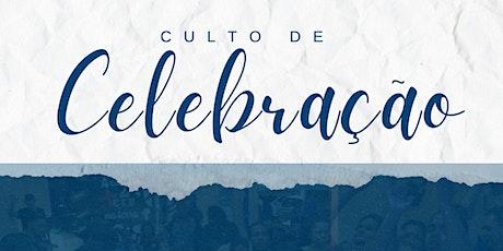 Culto de Celebração - 09:00 | 19:30 ingressos