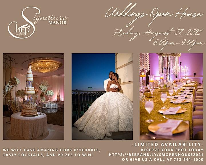 Signature Manor's Weddings Open House image