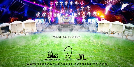 LIME ON THE GRASS  (rooftop Party) tickets