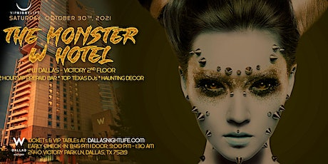 W Dallas Monster Halloween Party tickets