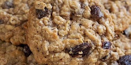 UBS - Virtual Cooking Class: Oatmeal Raisin Cookies tickets