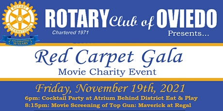 Rotary Club of Oviedo Presents:  Red Carpet Gala tickets