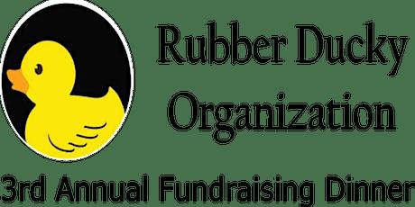 3rd Annual  Fundraising Dinner tickets