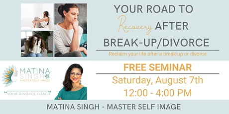 Your road to recovery after break-up/divorce tickets