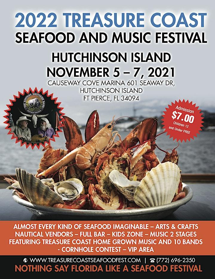 2021 Treasure Coast Seafood and Music Festival Hutchinson Island image
