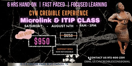 Cyn Credible Experience tickets