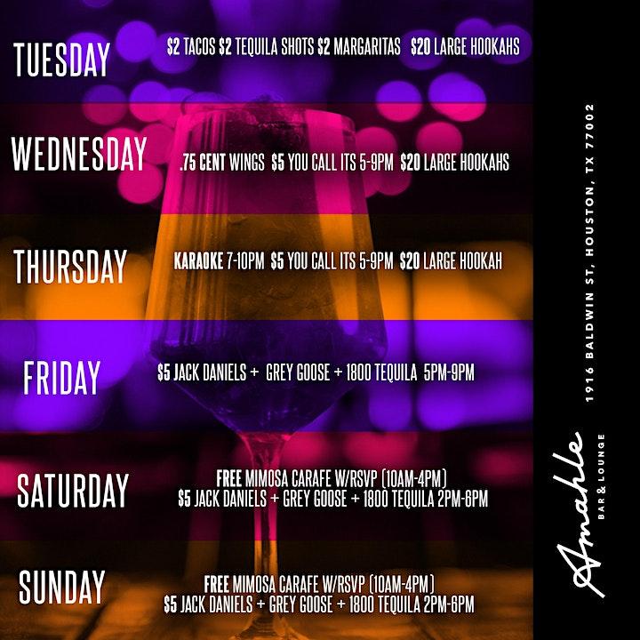 Live Music Fridays at Amahle Bar & Lounge image