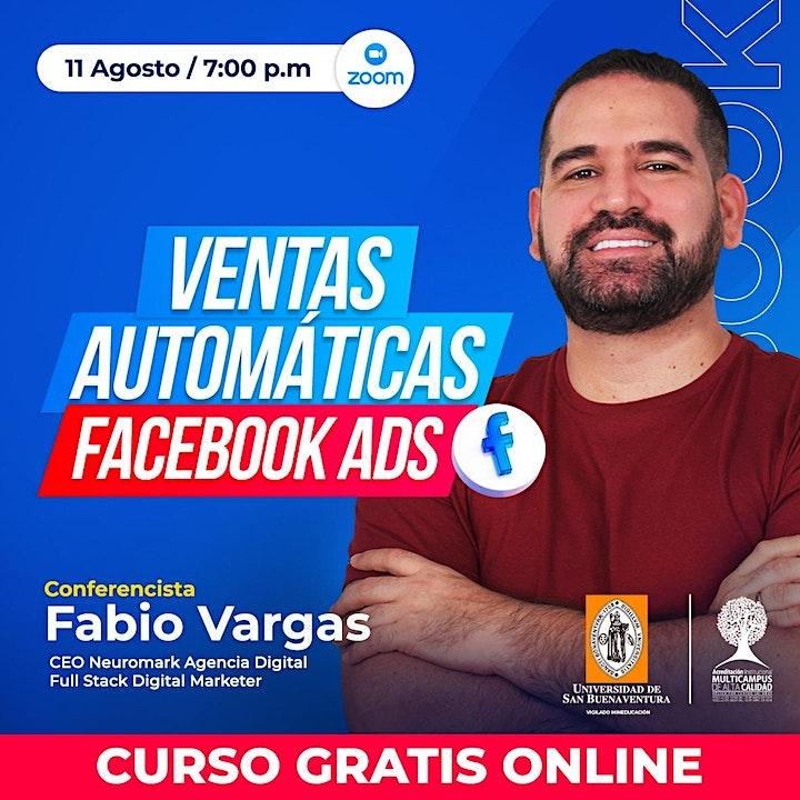 Imagen de Ventas automáticas en Facebook Ads