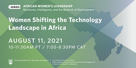 Women Shifting the Technology Landscape in Africa tickets