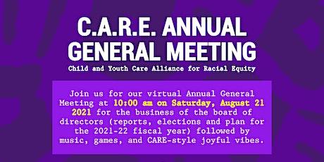 C.A.R.E. Annual General Meeting tickets