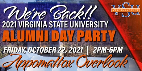 2021 Virginia State University Alumni Day Party tickets