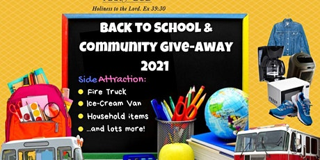 Back to School & Community Support Event tickets
