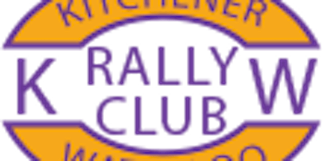 Kitchener Waterloo Rally Club Event tickets