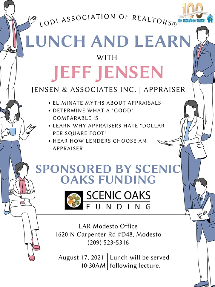 Lunch and Learn with Appraiser Jeff Jensen image