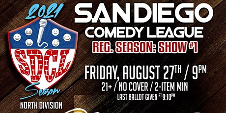 San Diego Comedy League Show at Cheers of Ramona, Fri. 8/27 , 9pm tickets