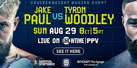 Jake Paul Vs. Tyron Woodley tickets