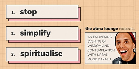 Stop. Simplify. Spiritualise. tickets