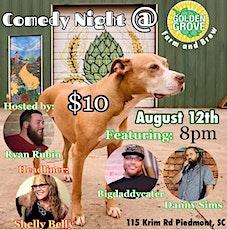 Comedy night @ Golden Grove Farm & Brew tickets