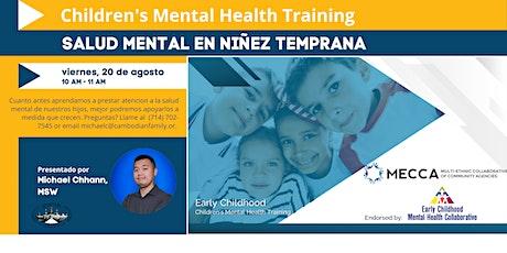 Capacitación en la Salud Mental de Infantil tickets