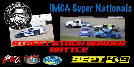 Weekend #3 September 4&5 Ole Smokes Coffee IMCA Super Nationals tickets