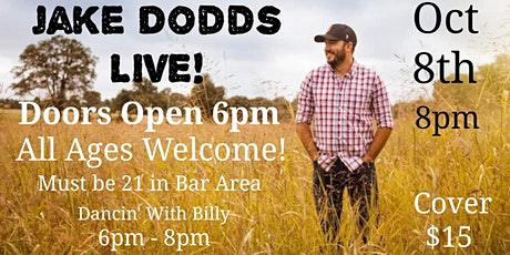 LIVE Jake Dodds @ Mike's Dance Barn tickets