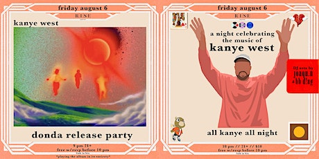 Donda Release Party @ Rise Rooftop tickets