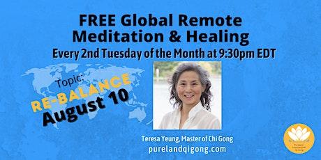 FREE Global Remote Healing - Re-Balance Qi tickets