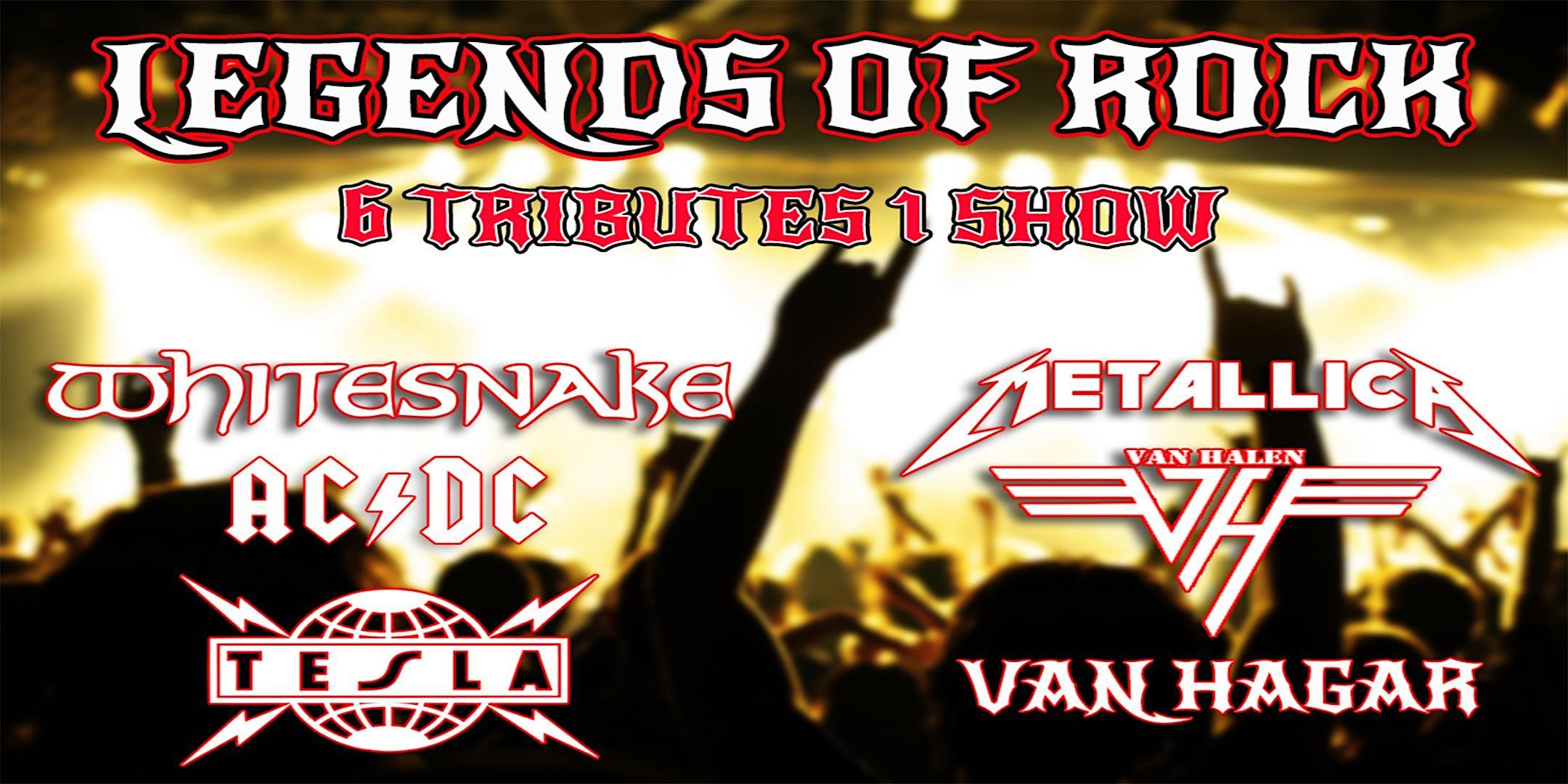 Legends of Rock Tribute – Whitesnake, AC/DC, Tesla, Metallica, Van Halen