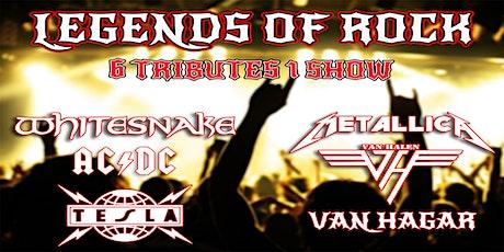 Legends of Rock Tribute - Whitesnake, AC/DC, Tesla, Metallica, Van Halen tickets