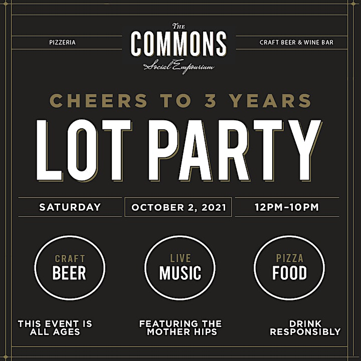 Cheers to 3 Years Lot Party image