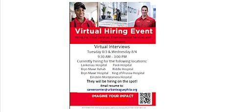 ULP Employer Partner Spotlight: Aramark Virtual 2 Day Hiring Event tickets