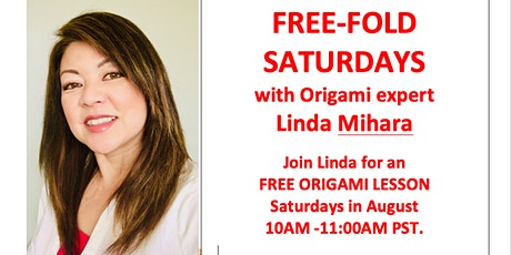 Free Fold Origami Saturday - Crane Pouch and Flying Crane Pouch tickets