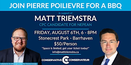 Fundraiser for Matt Triemstra's Campaign with Pierre Poilievre tickets