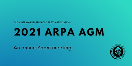 2021 ARPA AGM tickets