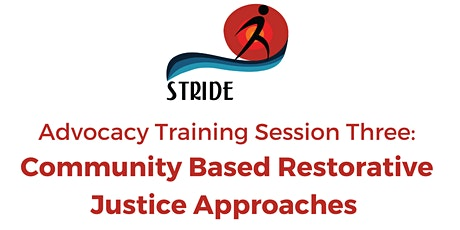 Community Based Restorative Justice Approaches tickets