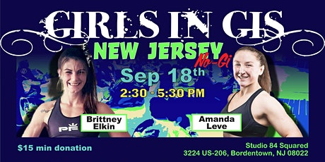 Girls In Gis New Jersey-Bordentown No-Gi Event tickets