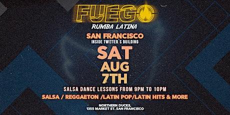 FUEGO rumba latina | San Francisco tickets