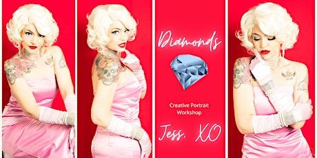 Creative Portraits workshop - Diamonds - Marilyn (PM) tickets