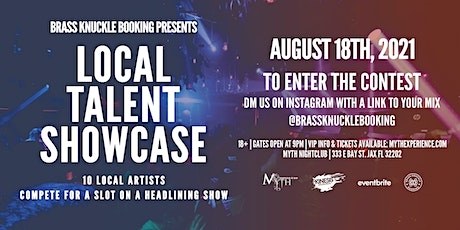 Brass Knuckle Booking Presents: Local Talent Showcase | 8.18.21 tickets