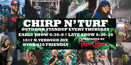 CHIRP N' TURF: Outdoor Standup Comedy tickets